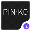 Black simple business -APUS Launcher free theme download