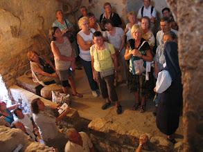 Photo: Taibeh (Ephraïm) dans une maison palestinienne du temps de Jésus