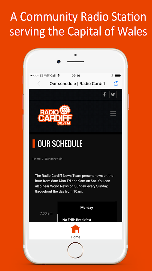 Radio Cardiff- screenshot