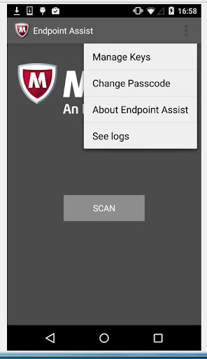 McAfee Endpoint Assistant screenshot 3