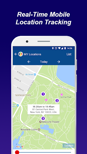 Track Any Phone - iLocateMobile GPS Tracker screenshot