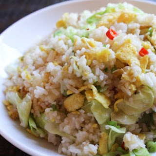 Simple Cabbage Fried Rice