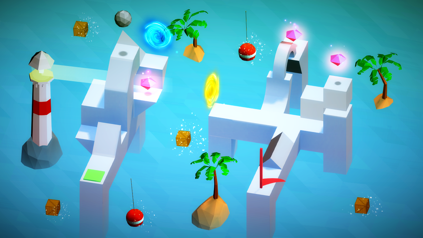 Poly & Marble Maze- screenshot