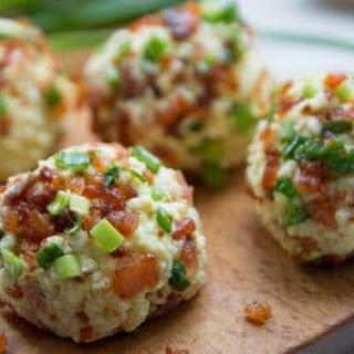 Salmon Egg Breakfast Bombs.