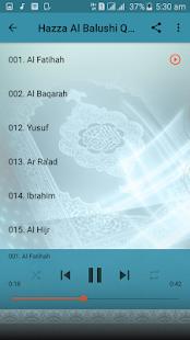 Full Audio Quran Offline Hazza al Balushi - náhled