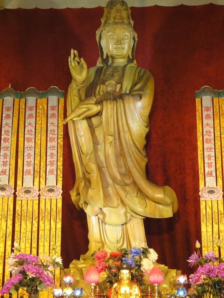 Guanyin au Temple de Jing'an à Shanghai