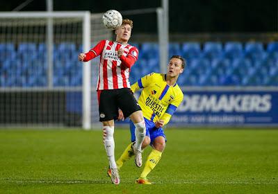 Belgisch talent bij PSV is aan het doorbreken