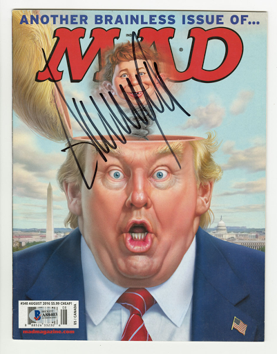 MAD Magazine Brainless Issue