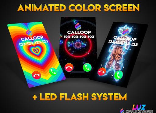 Color Phone Flash Call 💎 Calloop pro 이미지[1]