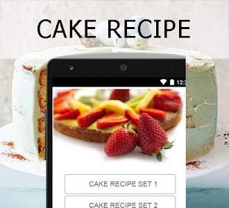 Cake recipes screenshot 1