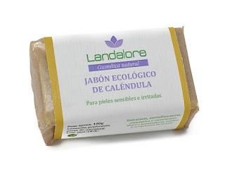 Jabón Natural Caléndula Vegano Landalore