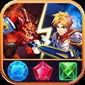 Match 3 Puzzle RPG - War of Hero - Dungeon Battle