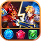 Download Match 3 Puzzle RPG - War of Hero - Dungeon Battle For PC Windows and Mac