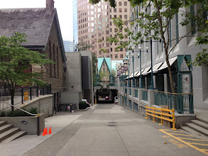 Photo: Area between Christ Church Cathedral and Cathedral Place
