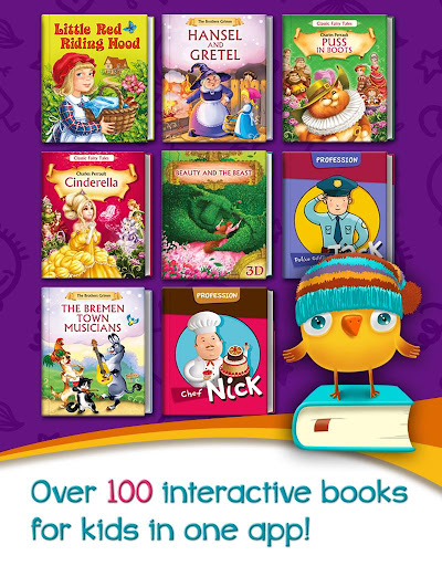 Azbooks - kid's fairy tales, songs, poems & games screenshot 11