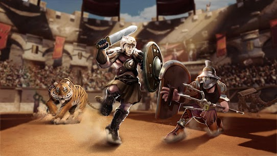 Gladiator Heroes Clash: Fighting and strategy game 4