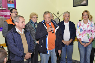 Photo: Varga István, Bakonya polgármestere üdvözli a résztvevőket