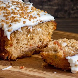Carrot-Wheat Bran Cake
