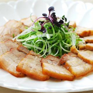 Slow Cooker Pork Belly (Samgyupsal)