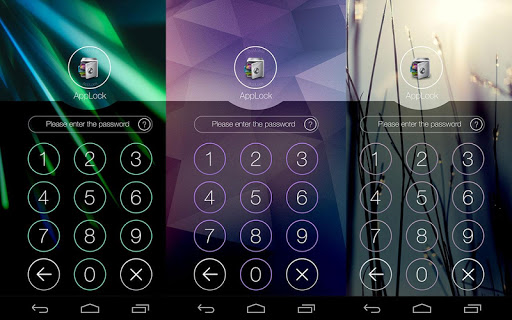 AppLock Theme Cube screenshot 4