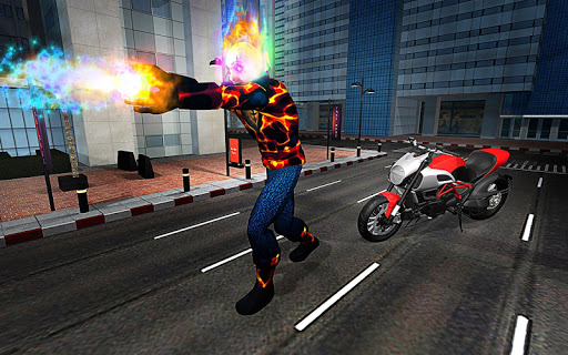 Ghost Bike Hero Blaze Fire Skull Rider Battle game (apk) free download for Android/PC/Windows screenshot