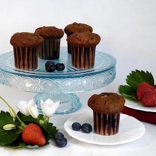 Fresh Berry Muffins - Paleo, Gluten Free Recipe