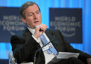 Photo: DAVOS/SWITZERLAND, 26JAN12 - Enda Kenny, Taoiseach of Ireland speaks during the session 'Rebuilding Europe' at the Annual Meeting 2012 of the World Economic Forum at the congress centre in Davos, Switzerland, January 26, 2012.  Copyright by World Economic Forum swiss-image.ch/Photo by Moritz Hager