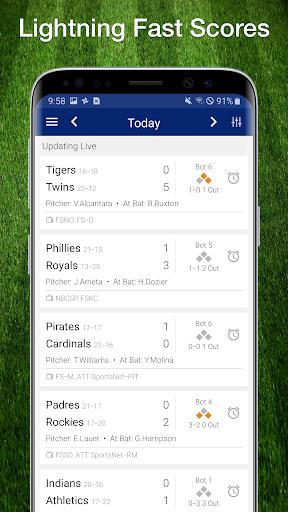 Baseball MLB Live Scores, Stats & Schedules 2019 8.2.5 screenshots 1