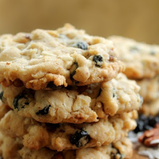 Blueberry, Pecan, Coconut, White Chocolate, Oatmeal Cookies Recipe