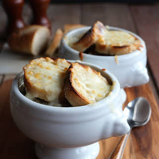 Slow Cooker French Canadian Onion Soup.