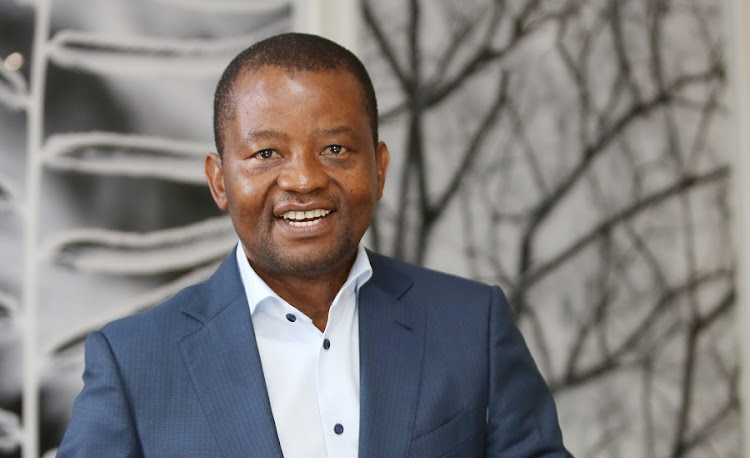 The writer suggests Peter Moyo's drawn out saga with Old Mutual can be seen as a corporate version of an abused woman who always goes back to 'hold the knife on the sharp side of the blade'.