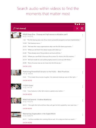 Microsoft Stream screenshot 8