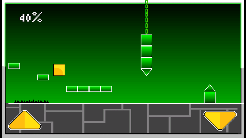 android Geometry Cube Jump Screenshot 3