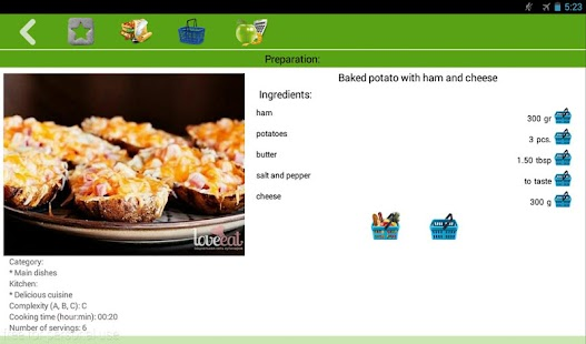 Potato recipes- screenshot thumbnail