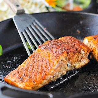 5-Minute, 5-Ingredient Blackened Salmon Recipe
