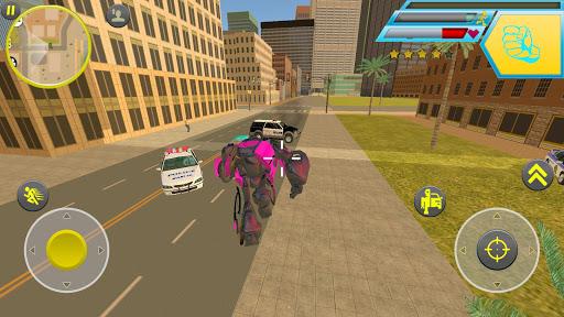 Real Futuristic Robot Car Transform: Robot Games 이미지[1]