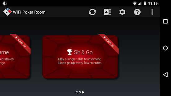 WiFi Poker Room - Texas Holdem- screenshot thumbnail