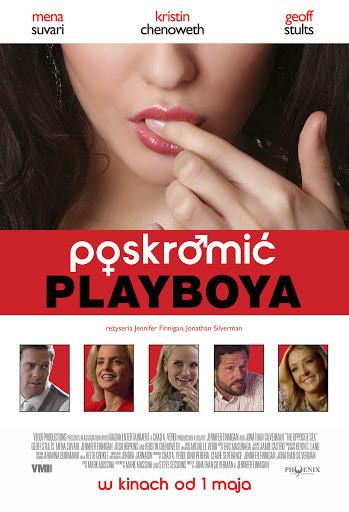 Polski plakat filmu 'Poskromić Playboya'