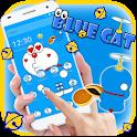 Kawaii Blue Cute Cat Cartoon Wallpaper Theme icon
