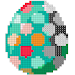 Easter Eggs Color by Number - Pixel Art Paint Book icon