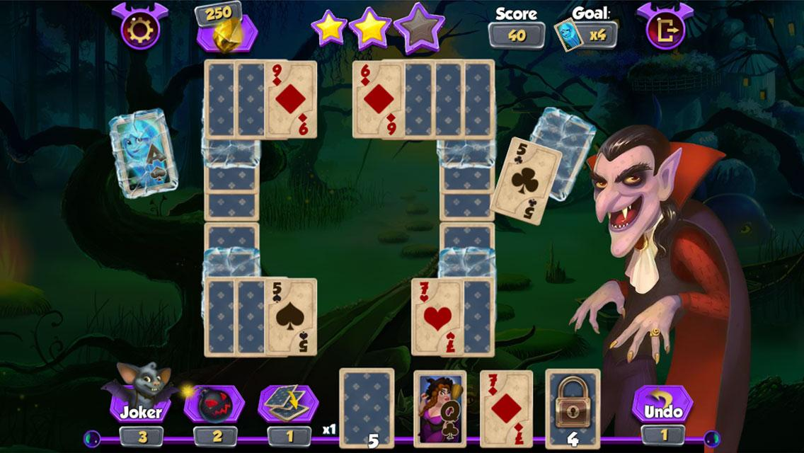 Bewitched Solitaire- screenshot