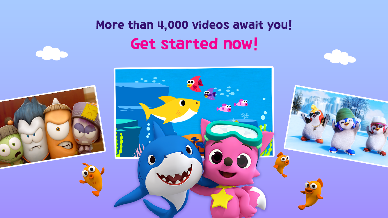 Screenshots of PINKFONG TV - Kids Baby Videos for iPhone