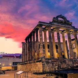 Templo romano de Diana, Cáceres by -. Phœnix .- - Buildings & Architecture Public & Historical