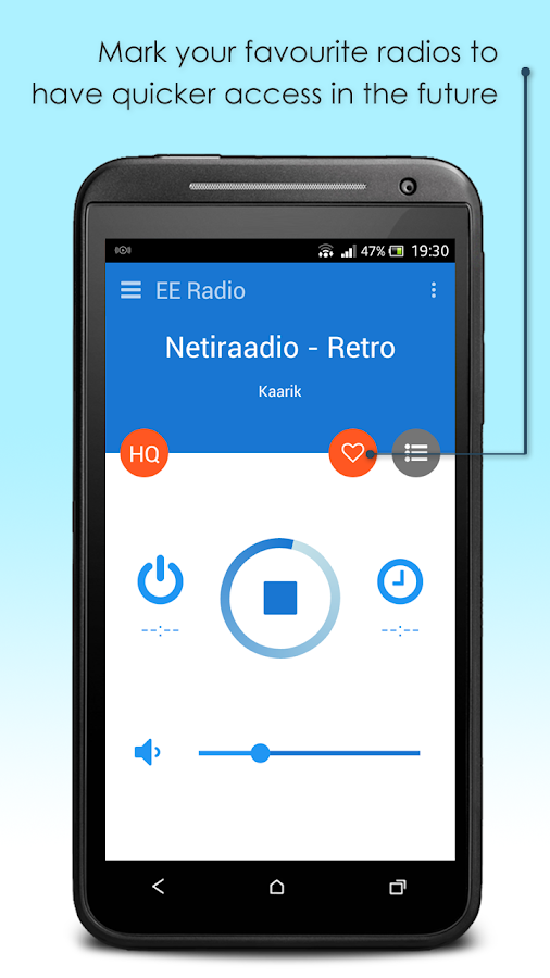 EE Radio- screenshot