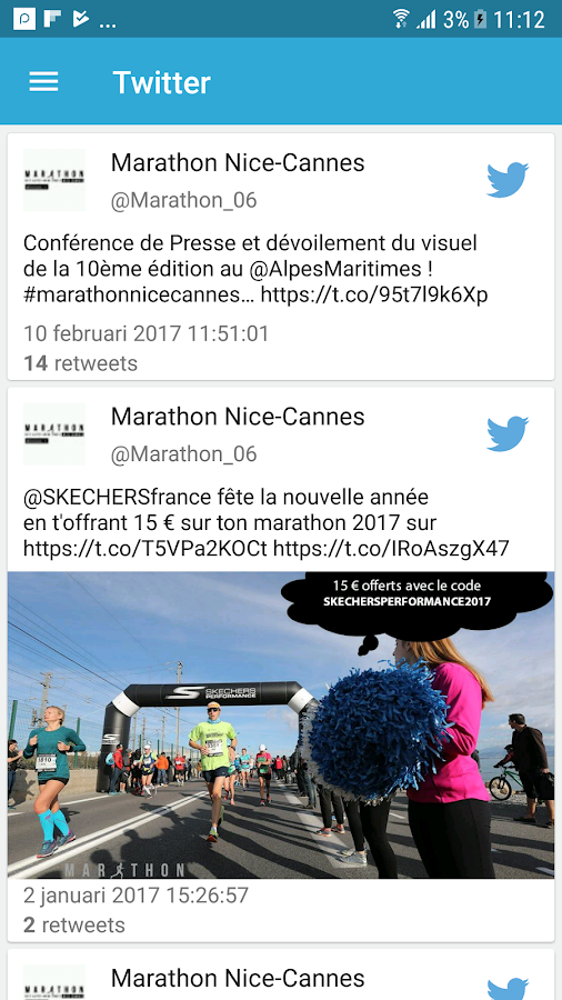 Marathon Nice-Cannes- screenshot