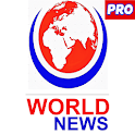 World News Pro: Breaking News,Top Stories - No Ads icon