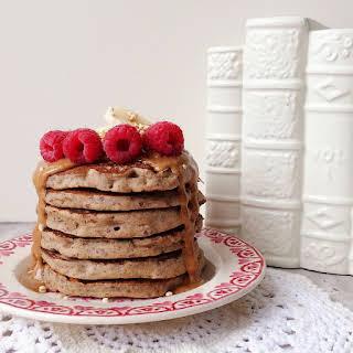 Vegan Gingerbread Buckwheat Pancakes.