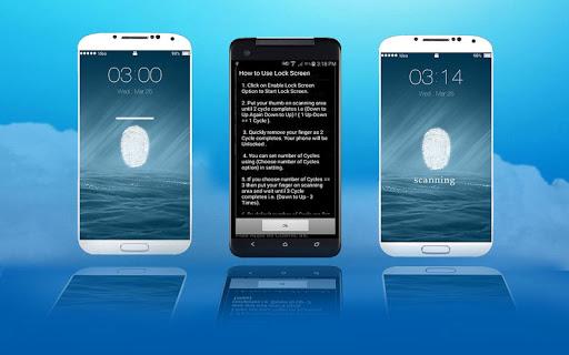 Fingerprint Lock for OS8-Prank