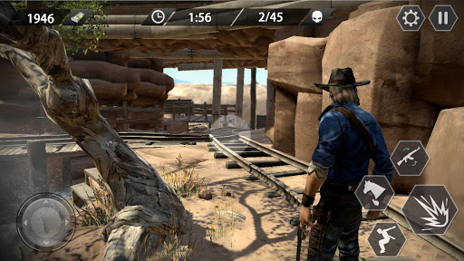 Cowboy Gun War - screenshot