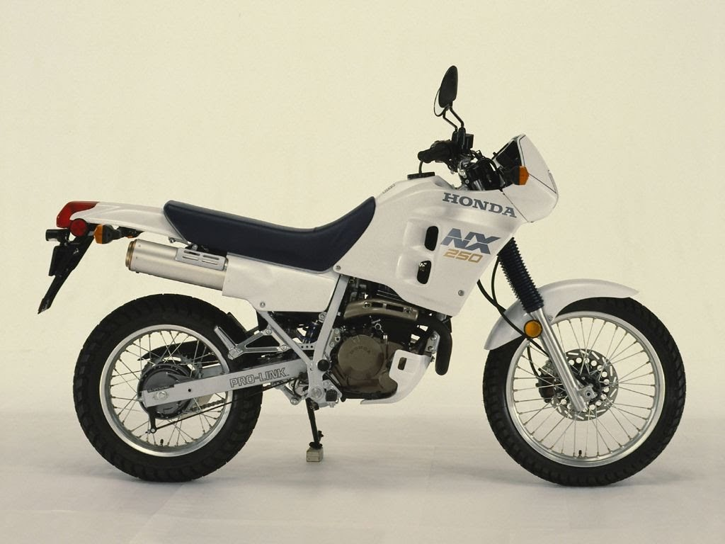 Honda NX 200 - Honda NX 250-manual-taller-despiece-mecanica